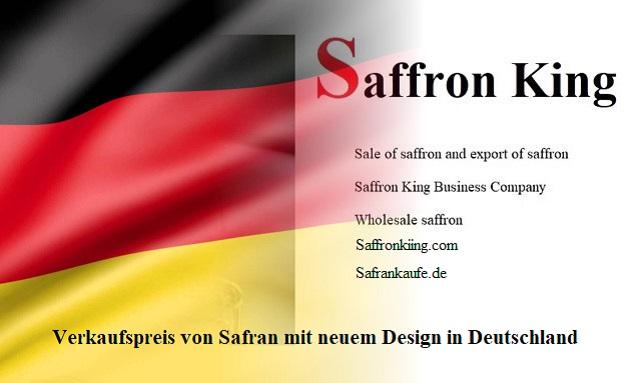 Verkaufspreis von Safran mit neuem Design in Deutschland
